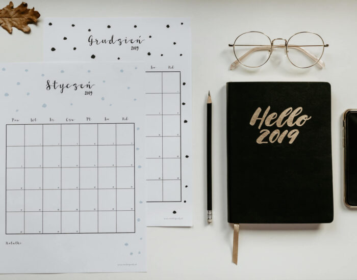 Kalendarz / Planner 2019