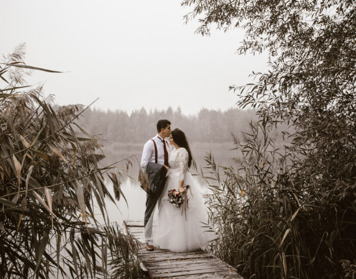 Plener ślubny Basi i Rafała