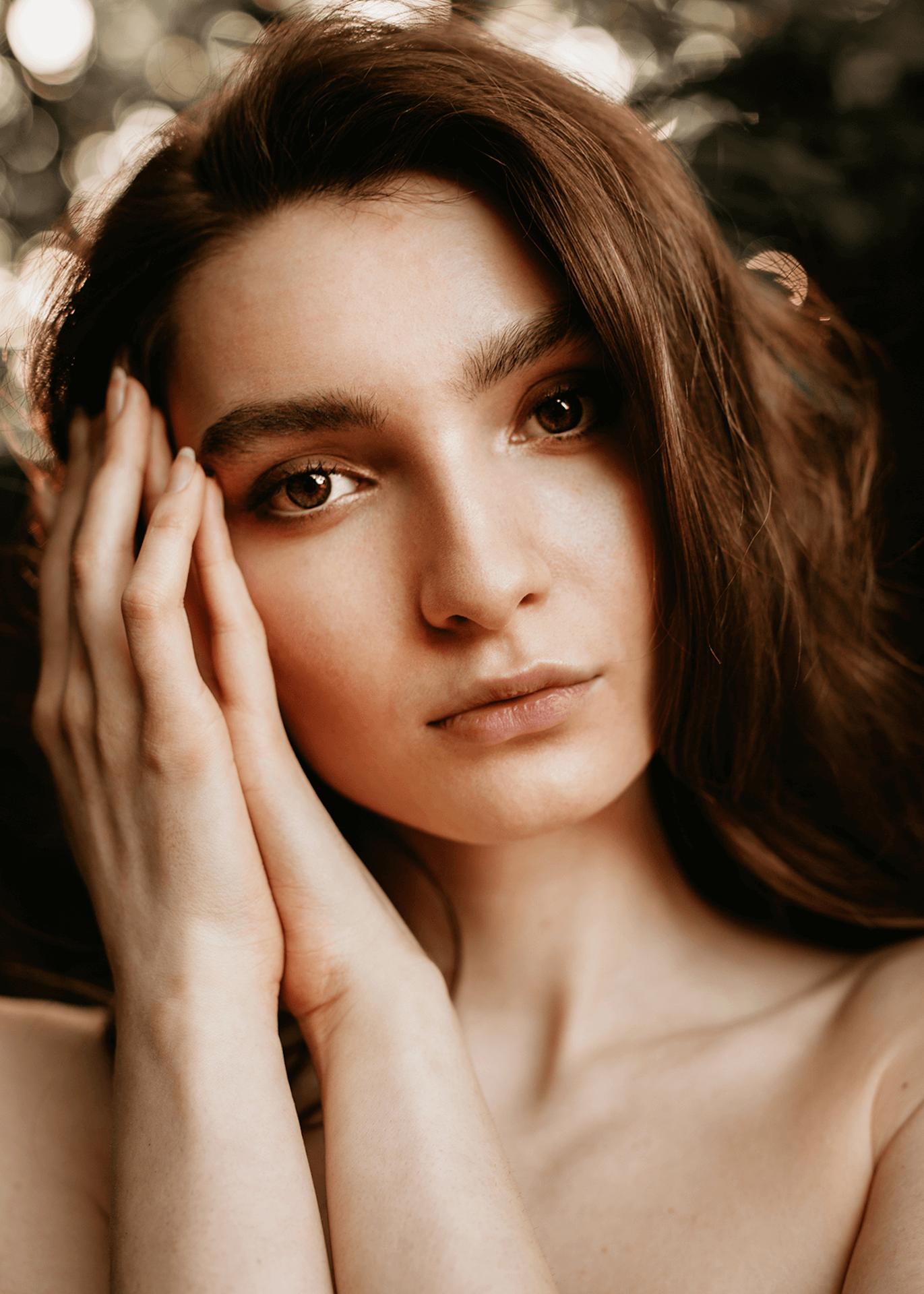 Piękny portret kobiecy