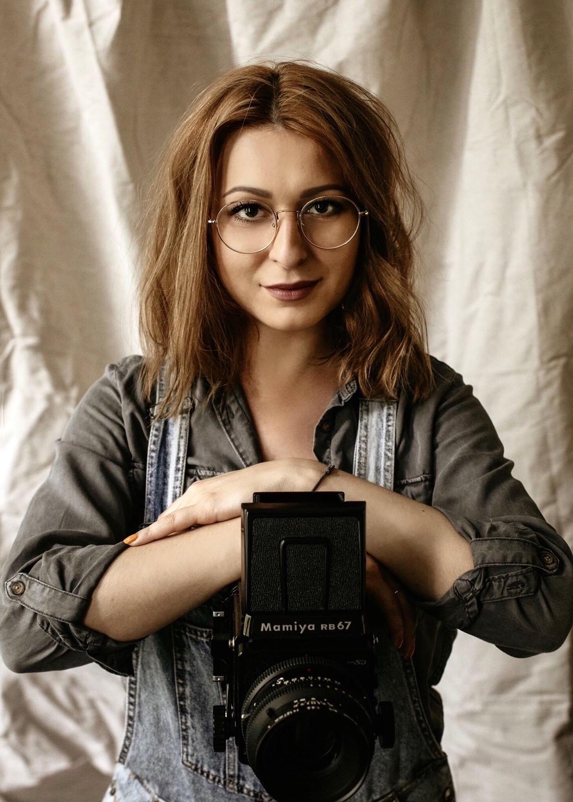 Marcelina Zagrodnik - autoportret